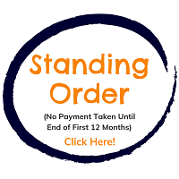 Pay by stading order - Payment not taken for 12 months